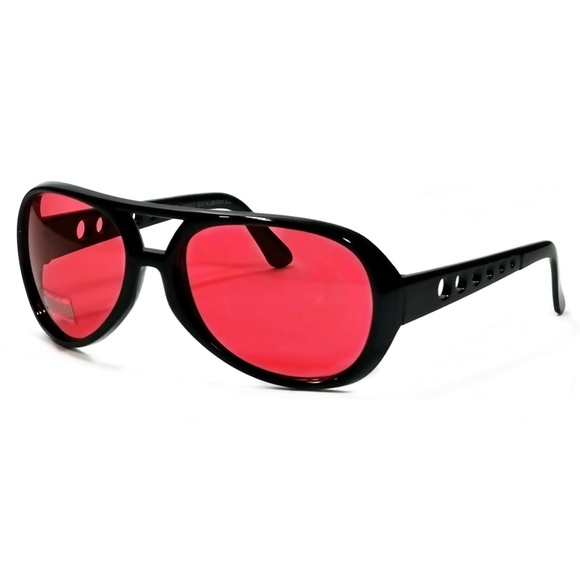bca914d8c18c Retro Vintage Sunglasses Elvis Rock Aviator Red. Boutique. Cool Fashion.   10  29. Size